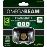 Gogreen Power - Omegabeam Led Headlight - Black - 120 Lumens