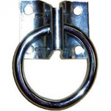 Horse And Livestock Prime - Hitching Ring With Plate Economy-2 Inch