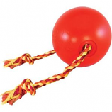 Ethical Dog - Tuggo Ball With Rope - Red - 7 Inch