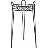Panacea  - Canterbury Plant Stand-Black-21 Inch