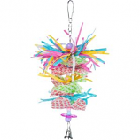 Prevue Pet Products - Prevue Miami Frost Bird Toy - Assorted - Medium