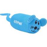 Coastal Pet Products - Lil Pals Mesh Mouse - Blue - 5 Inch