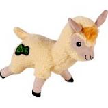 Quaker Pet Group - Godog Fleece Llama Durable Plush Dog Toy - Ivory - Large