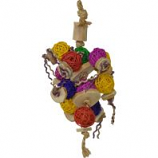 A&E Cage Company - Happy Beaks Ball Thing Bird Toy - Asst