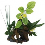 BLUE RIBBON PET PRODUCTS - EXOTIC ENVIRONMENTS CHESTNUT W/PLANTS--LARGE