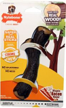 Tfh Publications/Nylabone - Strong Chew Stick Wood Texture - Maple Bacon - Wolf
