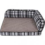 Petmate - Beds - Lazyboy Sadie Sofa - Plaid - 38X29