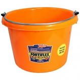 Fortex Industries - Utility Pail - Orange - 8 Quart