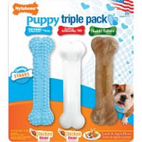 Tfh Publications/Nylabone - Puppy Chew Triple Pack - Blue