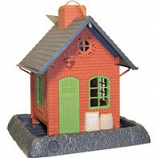 North States Industries - Village Collection Old Town Pub Birdfeeder-Red