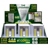 Gogreen Power - The Litesaver Cob Led Display - White - 12 Pc