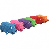 Multipet International - Origami Pig Latex Toy - Assorted - 8 Inch