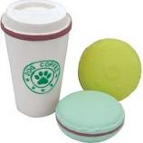 Coastal Pet Products - Li'L Pals Coffee Cup & Cookie Toy Set - Multi - 3.5 Inch