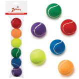 Zanies - Puppy Pride Mini Tennis Balls - 6 pack