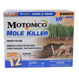 Motomco - Mole Killer Ready To Use Bonus Box-12 Worm Box