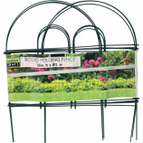 Garden Zone - Round Folding Fence - Green - 18X8