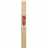 Bond Manufacturing - Packaged Hardwood Stakes-Natural-6 Foot/6 Pack