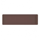 Novelty Mfg -Countryside Flower Box Tray-Brown-30X7X1 Inch