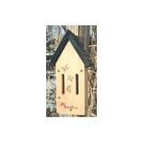 Audubon/Woodlink - Cedar Butterfly Shelter - Tan / Green - 5.5 X 8 X 14.75 Inch