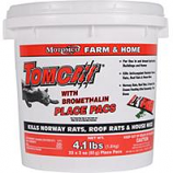 Motomco  - Tomcat With Bromethalin Place Pacs Pail-22 X 3 Oz Pacs