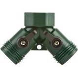 Melnor - Melnor 2 Hose Connector With Shut Off - Green
