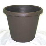 Myers Industries - Classic Pot - Chocolate - 14 Inch