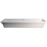 Novelty Mfg -Countryside Flowerbox-White-36 Inch