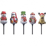 Coleman Cable P - Holiday Ceramic Stake Lights Floor Display- 16 Piece