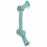 Mammoth Pet Products - Extra Fresh 2 Knot Bone-Green/White-9 Inch