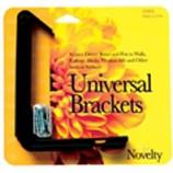 Novelty Mfg - Universal Windowbox Bracket - Black