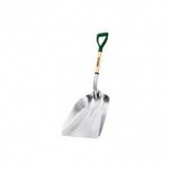Truper Tools - Tru Tough Aluminum Scoop Shovel-Aluminum/Wood-27 Inch