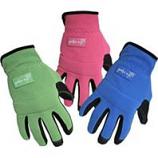 Boss Manufacturing -Sandy Pu Palm Glove With Foam Padding-Assorted-Medium
