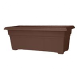 Novelty Mfg -Countryside Patio Planter-Brown-27 Inch