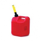 Midwest Can Company  - Spill Proof Poly Gas Can - Red - 2 Gallon