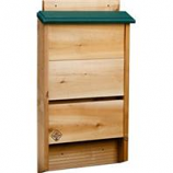 Welliver Outdoors - Bat House Cedar-Natural/Green-3.25X14X24