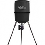 B/A Products - Monsta - D Wildgame Feeder - Gray - 30 Gallon Cap