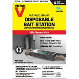 Woodstream Victor Rodent - Disposable Mouse Bait Station - 4 Pack