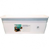 Myers Industries L&Ggroup - Deck Rail Box Planter - White - 24 Inch