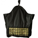 Horse And Livestock Prime - Hay Bag Slow With Front Net - Black - 10.5 X 12 X .25