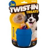 Jw - Dog/Cat - Jw Twist-In Treats Toy & Treat - Blue - 2 Pack