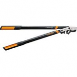 Fiskars  - Cutting  - Power Gear Bypass Lopper-Black/Orange-32 Inch