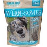 Sportmix - Wholesomes Grain Free Moist Treats For Dogs - Fish - 25 Oz