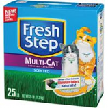 Clorox Petcare Products - Fresh Step Multicat Clumping Cat Litter - Scented - 20 Pound