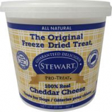Stewarts Treats - Stewarts Freeze Dried Treats For Dogs - Cheddar Cheese - 20 Oz