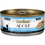 Canidae - Pure - Canidae Adore Canned Cat Food - Tuna/Chicken/Mackerel - 5.5 Oz