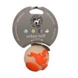 Planet Dog - Usa Globe Ball Floating Orbee Dog Toy - Mint - 2.25 Inch