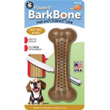 Pet Qwerks - Barkbone Mesquite Flavored Nylon Bone-Chicken-Medium