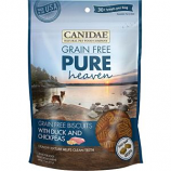Canidae-Pure - Heaven Biscuits Dog Treats - Duck/Chickpea - 11 Oz