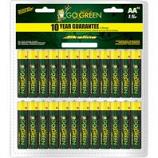 Gogreen Power - Alkaline Battery Clamshell - Aa/48 Pack