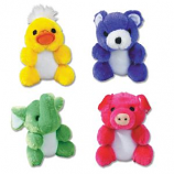 Zanies - Kutie Pies - 4.75Inch - Binky Bear